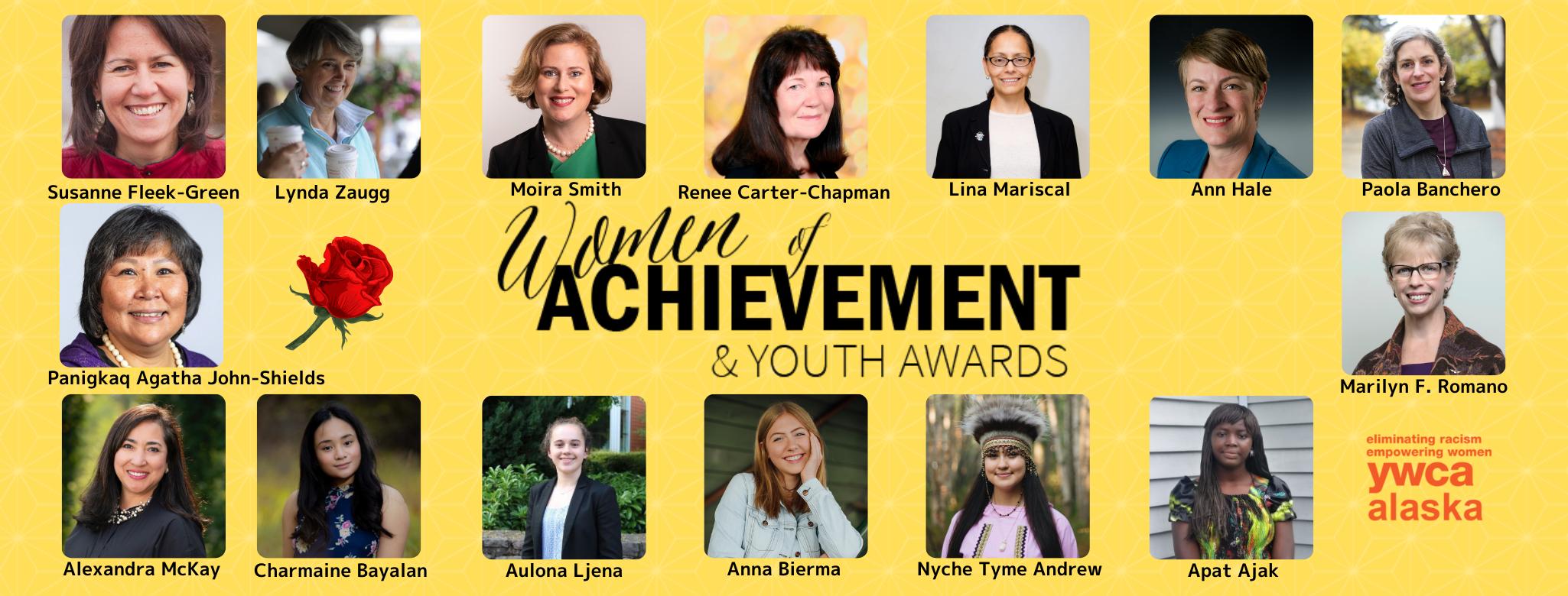 Women of Achievement 2020 Banner
