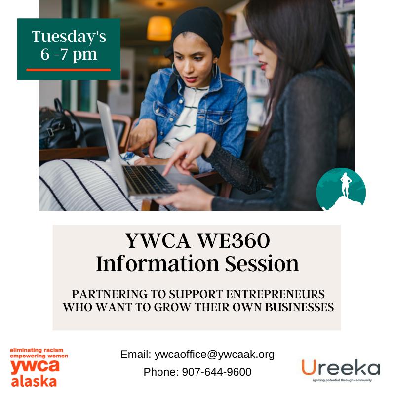 YWCA WE360 Information Session